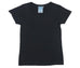 W Basic 30/70 Tee Washed Black