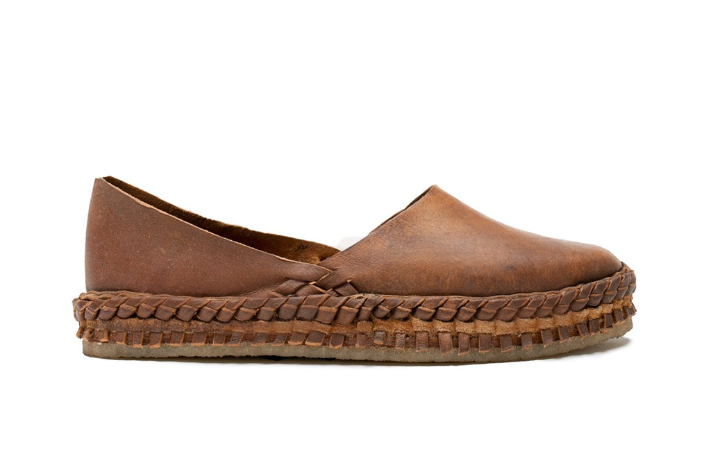 Women's Solid Flat / Oiled leather