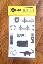 Temporary Tattoos - Pittsburgh