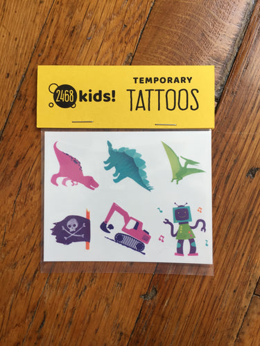 Temporary Tattoos - Fun Pack