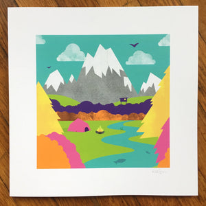 """Wilderness"" Art Print"