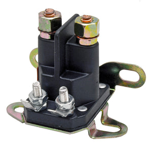 STARTER SOLENOID UNIVERSAL 4 POLE With Interchangeable Clip - (3-6 Bus./Day Delivery)