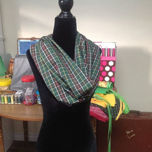 NEWFOUNDLAND TARTAN SCARF - LOCAL NEWFOUNDLAND TALENT (3-6 Bus./Day Delivery)