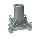 4 HOLE MOUNT MANDREL SPINDLE HOUSING 187281 W/ x 4 Self-Tapping Bolts  -  (3-6 Bus./Day Delivery)