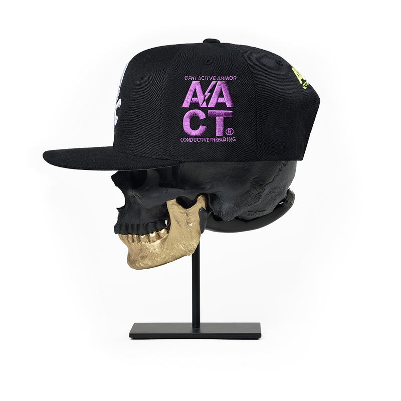 Gustfront™ GFNT 9Fifty Snapback Hat - BLACK