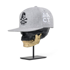 Gustfront™ GFNT 9Fifty Snapback Hat - GREY