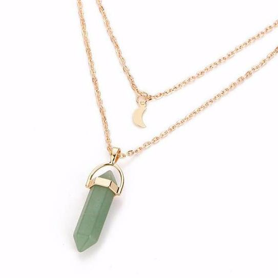 Crystal healing point pendant og jewelry crystal healing point pendant aloadofball Image collections