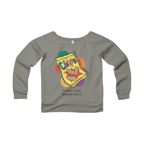 Women's Sponge Fleece Wide Neck Sweatshirt - My.ancestors.did.dat