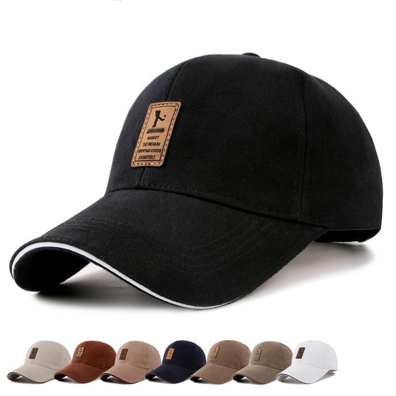 Baseball Caps Solid Color Cotton Labeled - BarnKey.com