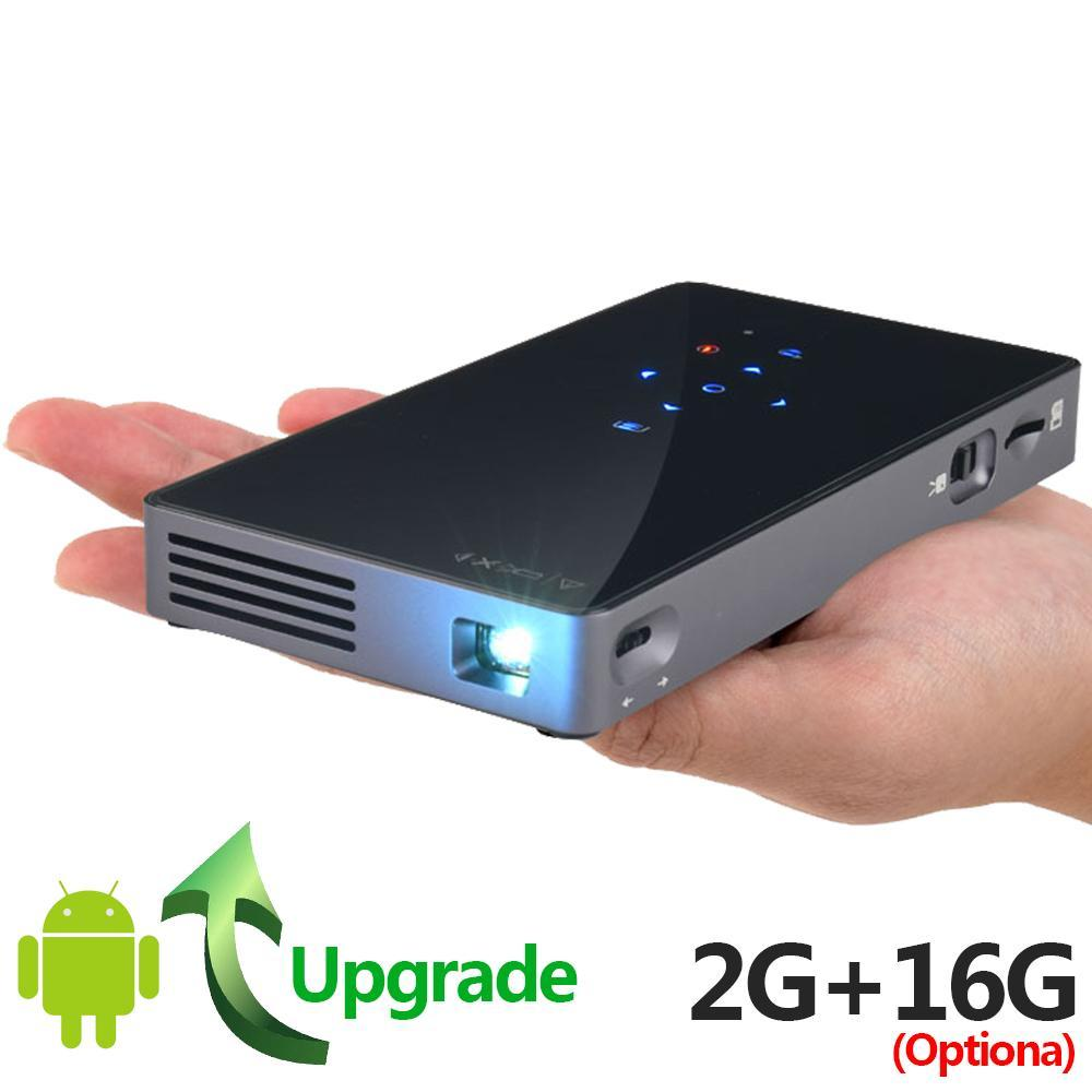 Home Theater Mini Smart Projector, D5S, Android 7.1, WIFI, Bluetooth, HDMI - BarnKey.com