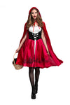 Little Red Riding Hooded Costume Plus Size - BarnKey.com