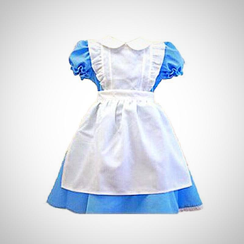 Alice In Wonderland Costume for Girls - BarnKey.com