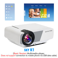 Portable LED Home Theater HD Mini Projector - BarnKey.com