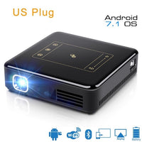 Mini Projectors for Sale - DLP Projector - Full HD 4K With Android 7.1 Bluetooth 4.0 Mini Projector For Home Theater - BarnKey.com