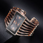 Women's Fashion Bangle Stainless Steel Bracelet Watches - BarnKey.com