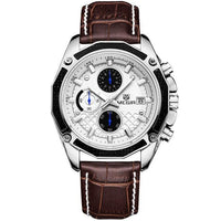 Mens Fashion Watches 2019 - Mens Watches with Genuine Leather Band - BarnKey.com