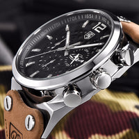 Best Men's Watches: Chronograph Stainless Steel Watch - BarnKey.com