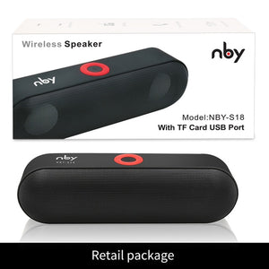 Wireless Speakers - Portable Bluetooth HD Speaker with Mic - BarnKey.com