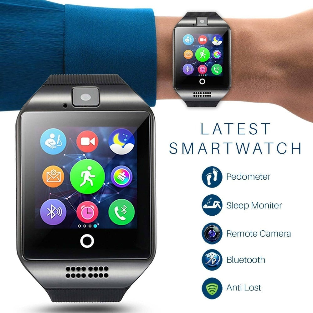 Smartwatch With Camera For IOS Android - BarnKey.com