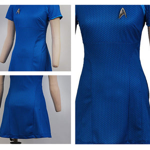 Star Trek Costume - Starfleet Uniform Dress - BarnKey.com