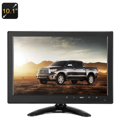 10.1-Inch TFT LCD Monitor - 1280x800p, HDMI, VGA, AV, USB, BNC, IPS Display, Built-In Speakers