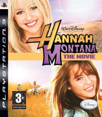 Jeu PS3 Hannah Montana the movie Walt Disney Playstation 3 - Beewik-Shop.com