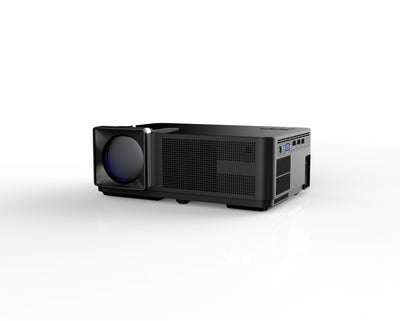Smart LCD Projector - 3000 Lumen, 1080p Support, 1.3 - 5m Throw Distance, 120-Inch Image Size, 80W LCD Light, Dual 3W Speakers - Beewik-Shop