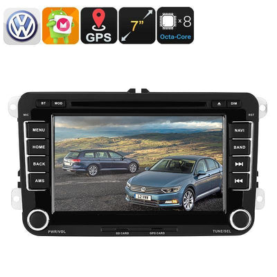 Autoradio DVD 2 DIN - Pour Volkswagen Passat, Ecran HD 7 pouces, Bluetooth, WiFi, 3G, CAN BUS, GPS, Android 6 - Beewik-Shop.com