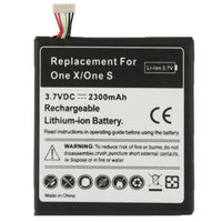 2300mAh Internal Replacement Battery for HTC One X / S720e, One S / Z520e