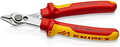 KNIPEX 78 06 125 Electronic Super Knips® VDE 125 mm - Beewik-Shop.com