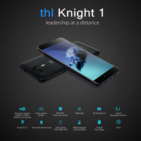 THL Knight 1 Android Phone - Dual SIM, 4G, Octa Core CPU, 3GB RAM, Android 7.0 , Fingerprint Scanner, HotKnot (Gold) - Beewik-Shop.com