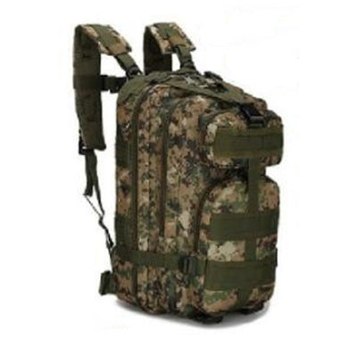 3P, Sac à dos militaire tactique, Sac de sport Oxford, Sac à dos de camping de randonnée dans la  Jungle digital_One size - Beewik-Shop.com