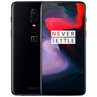 Preorder OnePlus 6 Smartphone - 6.28 Inch Optic AMOLED Screen, Snapdragon 845 CPU, 8GB RAM, Dual Rear Camera, Fingerprint Black