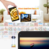 Tablette PC Android, Quad-Core, WiFi, batterie 2000mAh - Beewik-Shop.com