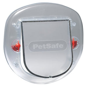PetSafe - Aletta per gatti Staywell Cat e Small Dog - Porta per animali domestici heavy duty con tunnel di estensione (incluso) - Glassata - Beewik-Shop.com