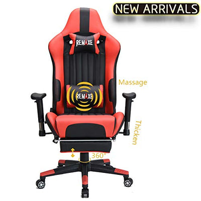 Gaming Chair (Red) - Beewik-Shop.com