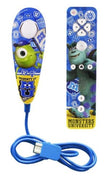 Télécommande + Manette Nunchuk 'Monsters University' pour Nintendo WiiU - Beewik-Shop.com