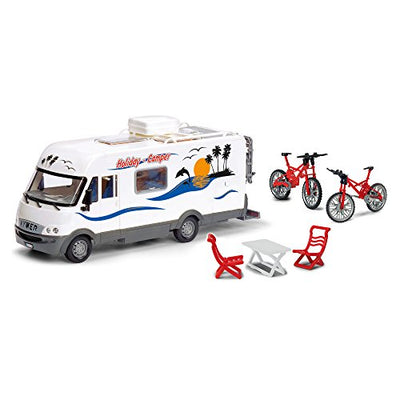 Smoby Dickie - 203777000 - Camping Car Holiday - + Accessoires - 40 cm - Beewik-Shop.com