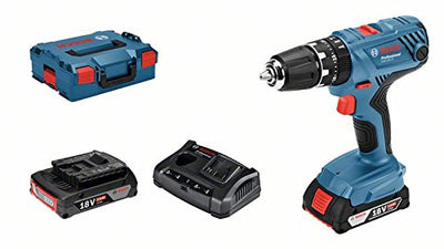 Bosch Professional perceuse-visseuse à percussion sans-fil GSB 18V-21 (2 batteries 2,0 Ah, 18 V, couple maxi : 55 Nm , L-BOXX) - Beewik-Shop.com