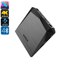 Box TV 4K M96X - Android 7.1, Google Play, WiFi, Miracast, Quad-Core CPU - Beewik-Shop.com