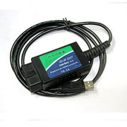 ELM327 USB avec puce FTDI avec 25K80 OBD2 CAN BUS Scanner OBDII outil de diagnostic - Beewik-Shop.com