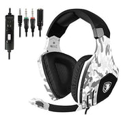 SADES SA618 Gaming Headsets Casques pour Nouvelle Xbox One PS4 PC Portable Mac Mobile - Camouflage - Beewik-Shop.com