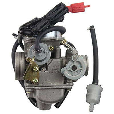 Carburateur 24mm PD24J Carb pour GY6 4 Stroke 125cc 150cc ATV Go Kart Cyclomoteur et Scooter - Beewik-Shop.com