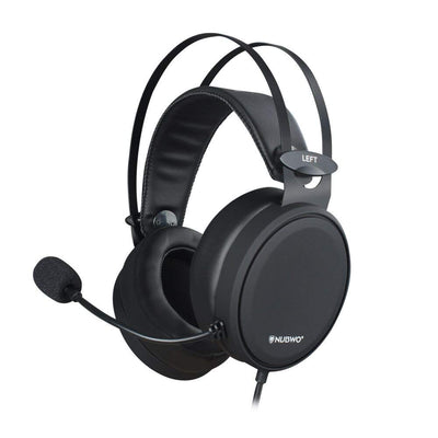 NUBWO Casque PS4, N7 Xbox One Casque Gaming Stéréo Filaire PC avec Micro à Réduction du Bruit, Casque Over-Ear pour PC, Mac, Playstation 4, Xbox One, Android et iPhone-Noir - Beewik-Shop.com