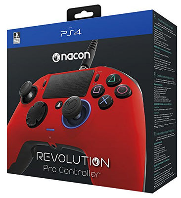 Manette Revolution Controller Camouflage rouge Nacon pour PS4 - Beewik-Shop.com