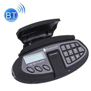 550 Steering Wheel Hand Free Bluetooth, Support FM Transmitter & TF Card(Black)