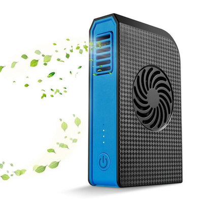 6000mAh Power Bank - High Capacity Lithium Battery, Built-In Fan, 55dB, Brushless Motor