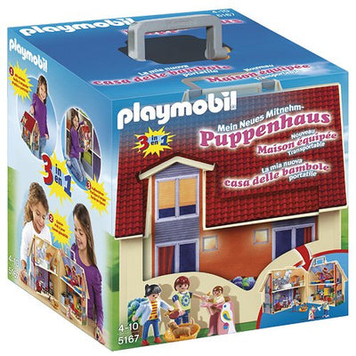 Playmobil - 5167 - Jeu de Construction - Maison Transportable - Beewik-Shop.com