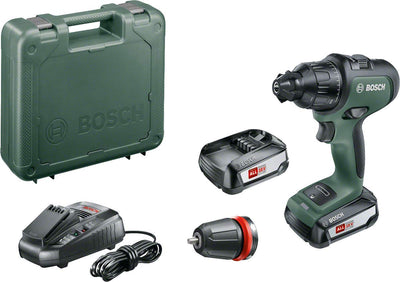 Bosch 06039B5101 Perceuse-visseuse à percussion sans fil AdvancedImpact 18, 2 batteries 18V 2,5 Ah, HMI, mallette - Beewik-Shop.com
