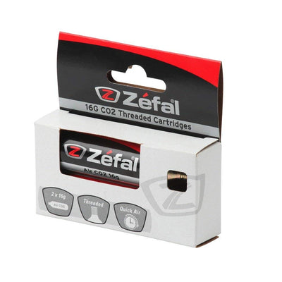 Zéfal Cartouche Filetée CO2 16 g (lot de 2) - Beewik-Shop.com